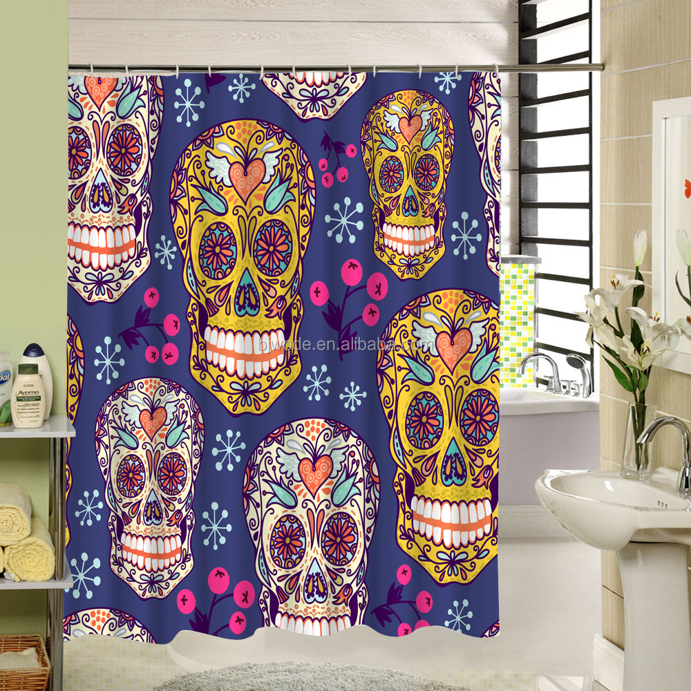 Plastic exact hippo drawing shower curtain manufactures