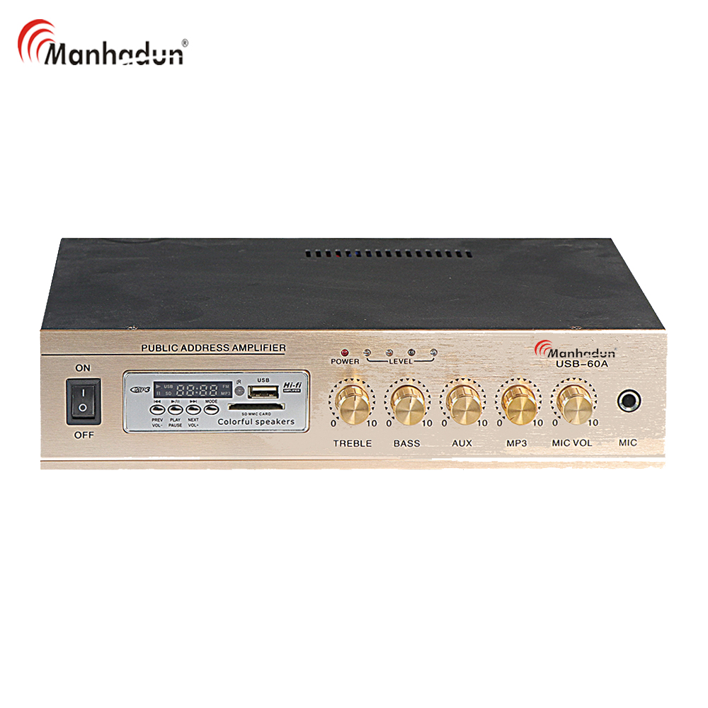 New Designed Professional High Quality Power Amplifier