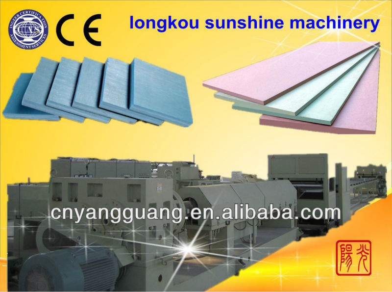 CO2 polystyrene heat preservation plate extrusion machinery