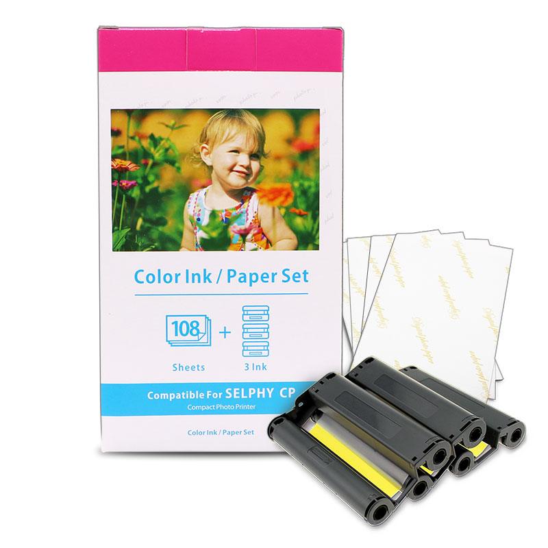 compatible kp108in wholesale photo paper for canon selphy paper with good quality