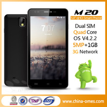 dual sim card touch screen android 4.2 mtk6582 5 inch smartphone