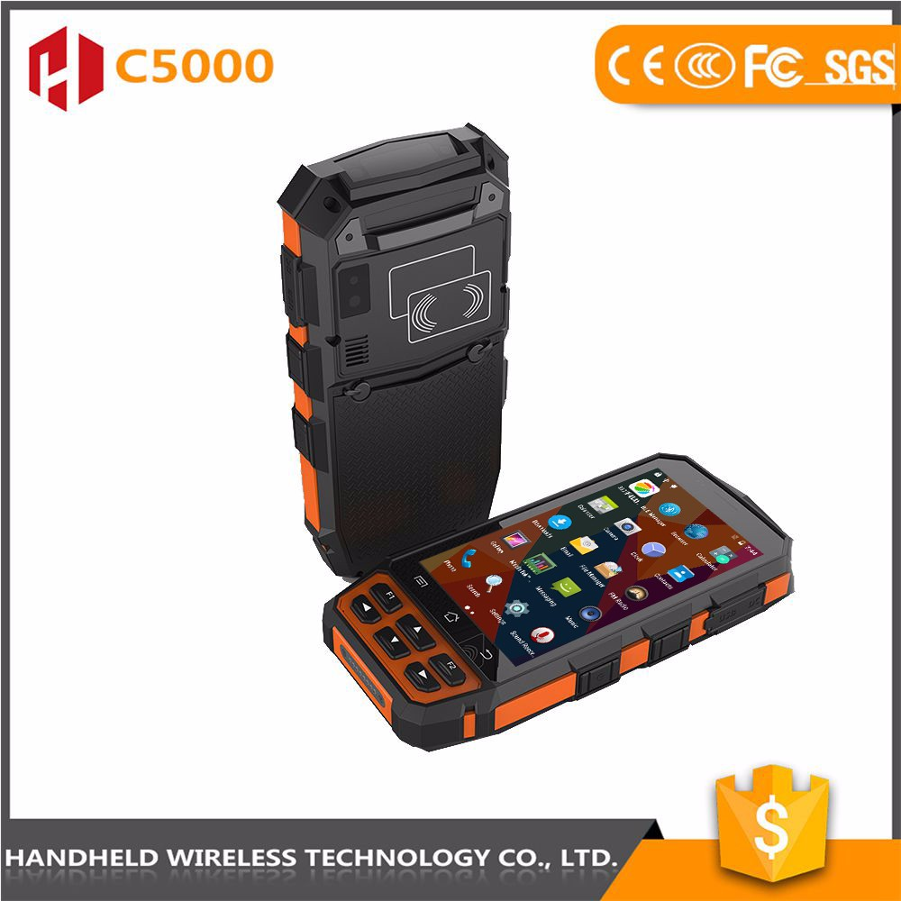 china wholesale good quality handheld C5000 rugged ip65 android 4g pda mobile phone