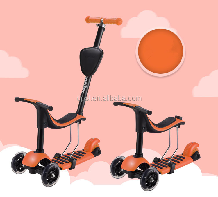 2016 new product 4 in 1 kids scooter