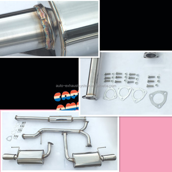 full stainless exhaust system