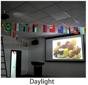 education projector 8000 ansi lumens full HD 3D Led Projector Laser star Projector Laser Beamer
