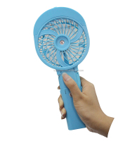 Promotional gifts Mini rechargeable outdoor handheld water cooling fan With mist