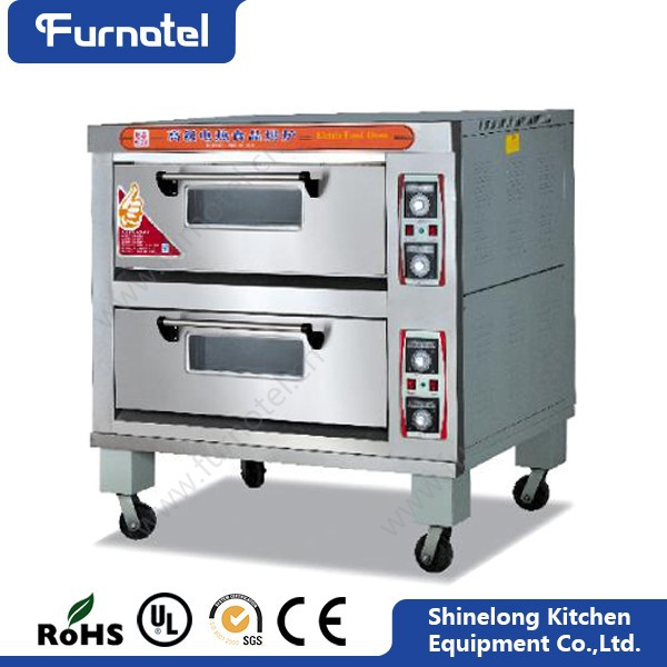 Furnotel Restaurant Equipment 2-Layer 4-Tray Pie Baked Oven