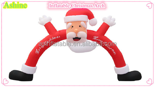 2016 Cheap Christmas Inflatable Arch, Inflatable Christmas Decorations Arch