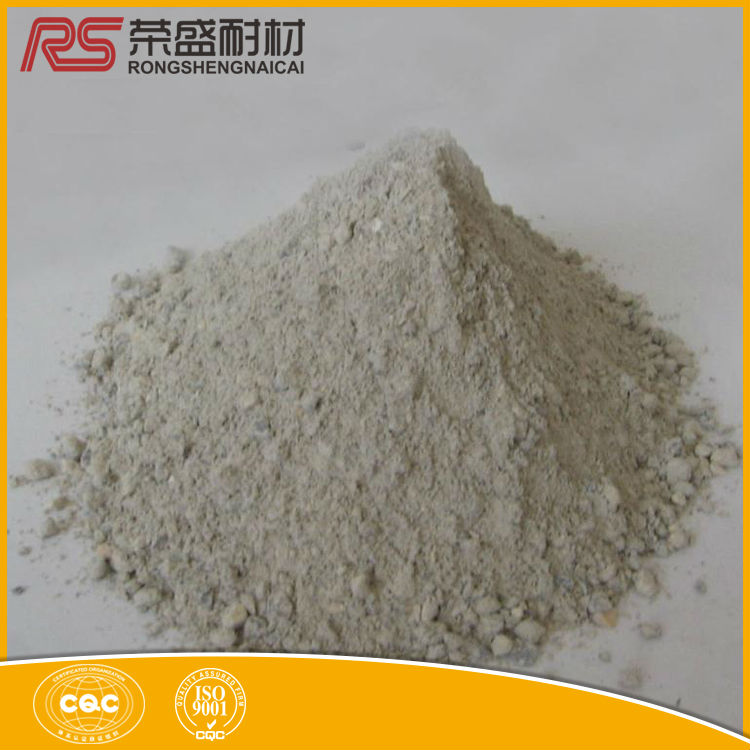 Cement kiln high temperature castable refractory material