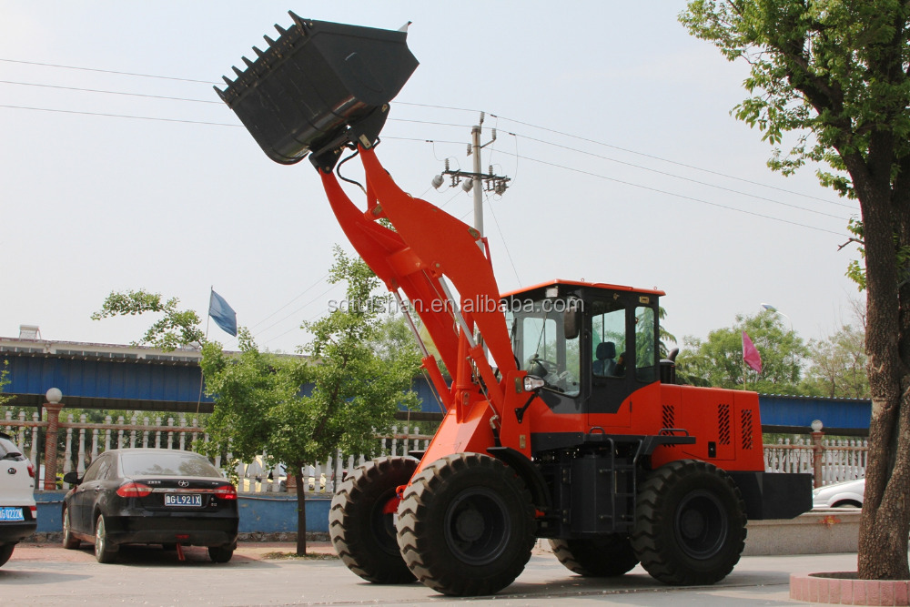 Tuishan ZLY928 Wheel Loader With comfortable cab with Joystick Control