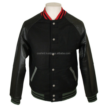 Wool And Leather Varsity Jackets, wool leather varsity Letterman Jacket High School Sports Jacket,Baseball Varsity Jacket,