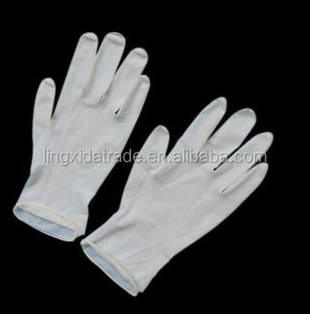 disposable surgical gloves manufacturers latex medical sterilized