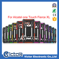 USA hot !T hoslter clip 3 in One kickstand Combo Mobile Phone Case for Alcatel one touch fierce XL