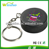 Custom Imprinted HOCKEY Puck Keyring Squeezie Stress Reliever