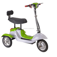 Cruiser Style 3Wheel Tricycle Bike with Li Ion Rechargable Battery