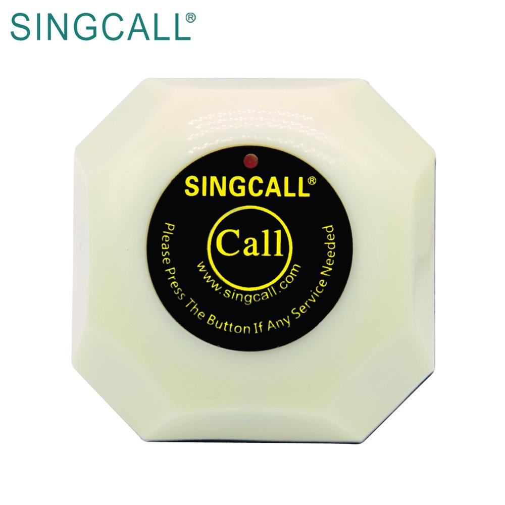 SINGCALL restaurant order device wireless waiter calling button