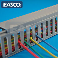 Covered Cabling Tray Close Slotted by EASCO