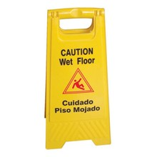 OFC Yellow Floor Safety Sign No Parking Plastic Caution Sign Board