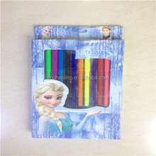 cartoon stationery sets water colored pen painting sets girls style promotional gift stationery sets