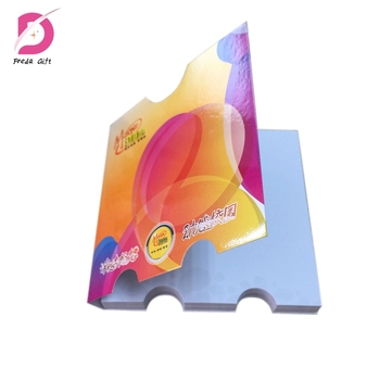 Advertising CMYK logo print combined note pad sticky note glue notes sticky