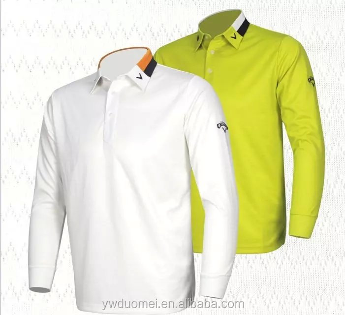 Pique 180 grams customized logo long sleeves golf polo t shirt men design wholesale china polo shirt