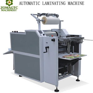 ZM-540 Automatic Thermal Paper Laminating Machine