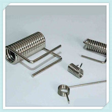 small spiral metal torsion spring for cloth pin