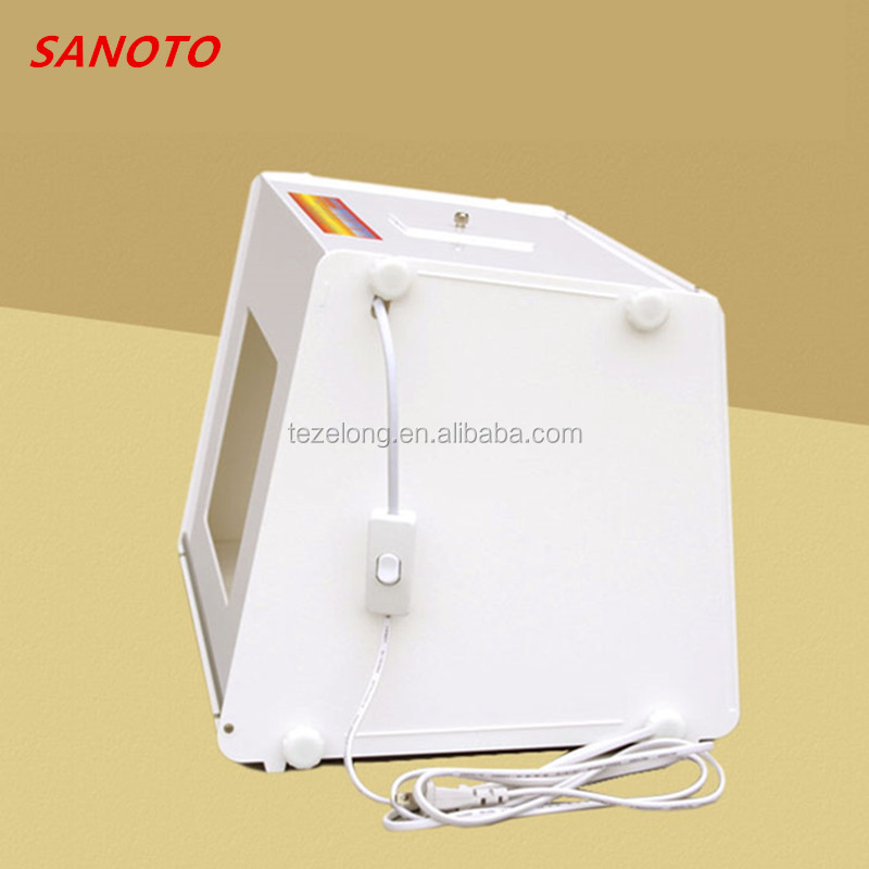 "sanoto 20 x 16"" portable mini professional photo studio light soft box photo studio MK50 for network online saler"