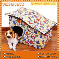 Teddy Dog House Cage For Dog Cat Pets