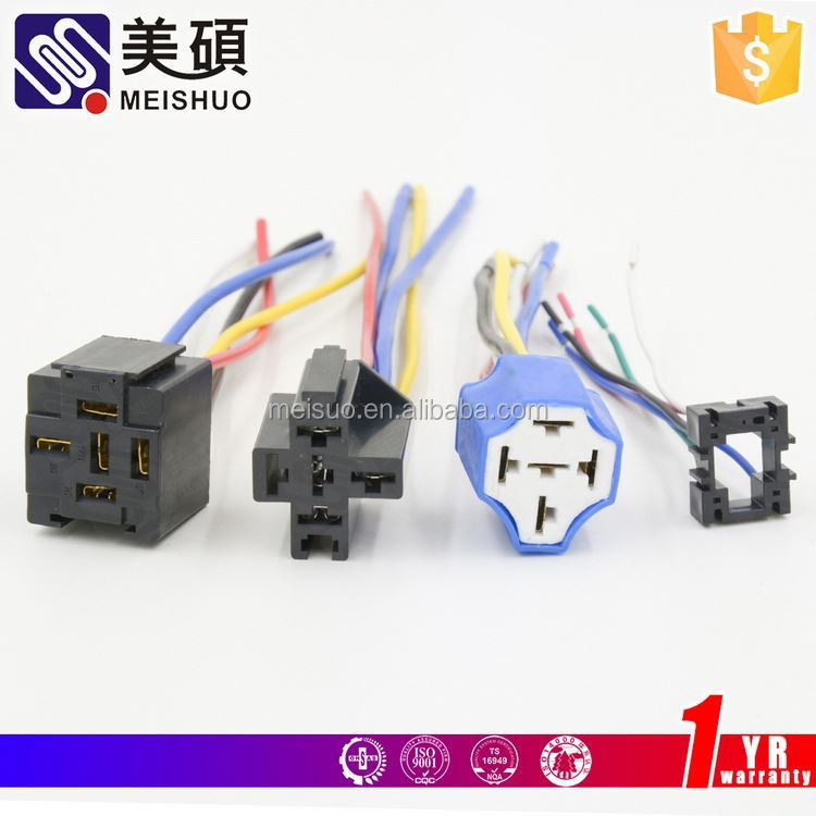 MEISHUO ptf14a-e din rail mounted relay socket