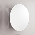 Oval mirror cabinet stainless steel bathroom cabinet 7021