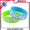 2013 Hot selling silicone debossed wrist bands for kids