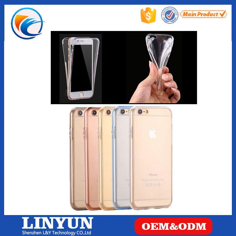 New Popular Selling For iPhone 4/4s 360 Full Protective TPU Back Case Cover, Sample Available