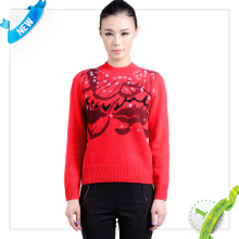 quality computerized sweater jacquard intarsia machine made in China