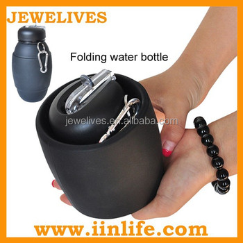 Low cost manufacturing ideas rubber wide mouth water bottle