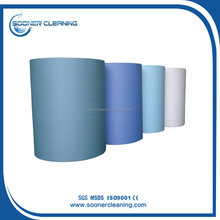 Cellulose Nonwoven Industrial Wipes Roll