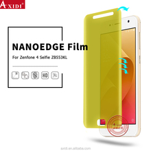 NANOEDGE Ultra Thin Bubble Free Shatterproof HD Silicone Sticker for Zenfone 4 Selfie ZB553KL Screen Protector