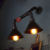 Retro American Industrial vintage wall lamp Creative Stairs Rust Water Pipe Wall Light E27 Edison wall mounted lights fixtures