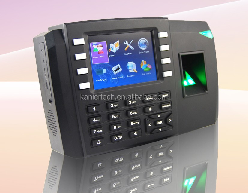 Fingerprint access control system with high-speed CPU processor and new fingerprint algorithm KA600