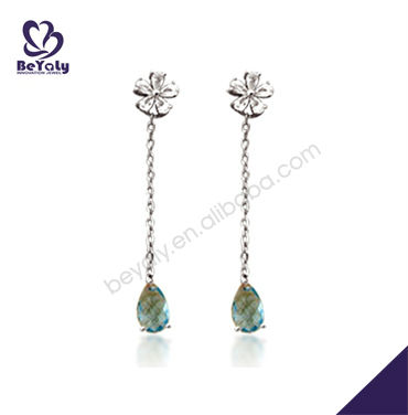 Latest Design Costume Jewelry Earrings For Teen Girl