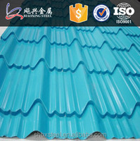 Prepainted Galvanized Trapezoid Sheet Metal Roofing