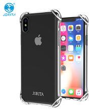 Mobile Accessory Jorita 2018 Screen Protector Design for iPhone X Cell Phone Case Mobile Cover Skin Back Shell