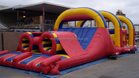 2016 obstacle course equipment, outdoor inflatable obstacle course equipment for sale