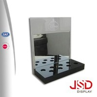 Imported Acrylic Imported Acrylic Display Stand customized nail polish remover display shelf