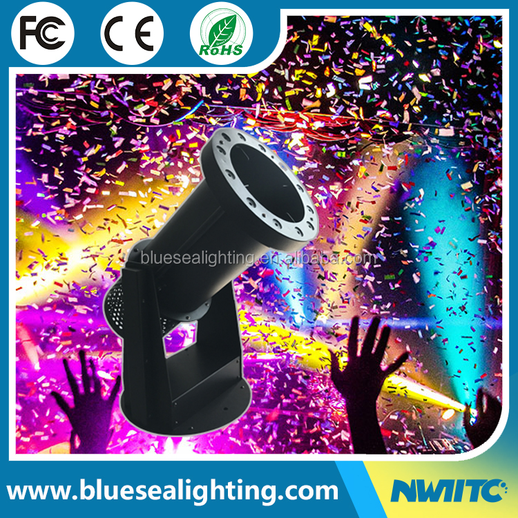 DMX Remote 1200w LED RGB 3IN1 making paper blower maker cannon confetti machine