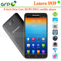 New Arrival S939 Android 4.2 MT6592 Octa Core Built-in 3G 6 inch cdma gsm dual sim android smart phone for wholesales