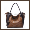 Special designer brand genuine leather handbag made in china