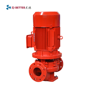 End suction Single stage vertical pipeline centrifugal pump used for customers