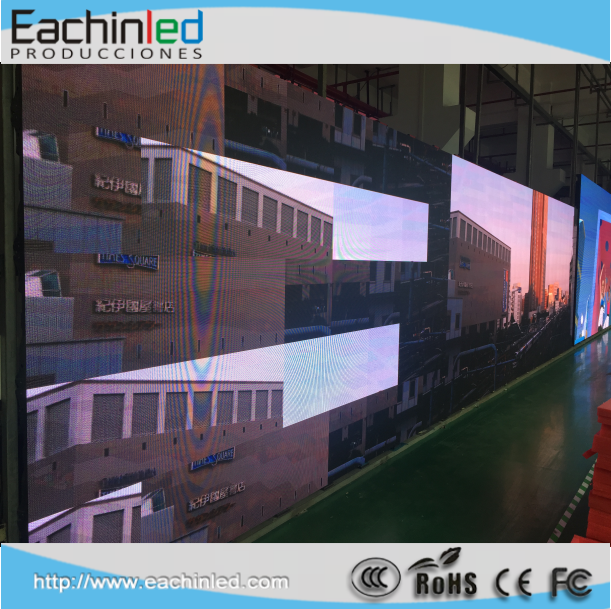 P2.5 HD full color indoor LED display screen for playing video DVD programme