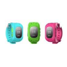 new arrived Q50 kids gps watch phone tracking for iphone and android smartphone